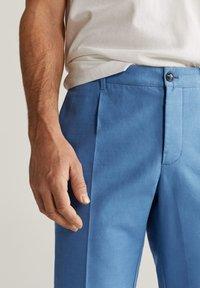 Mango - VIBES - Pantalon classique - indigoblau - 3