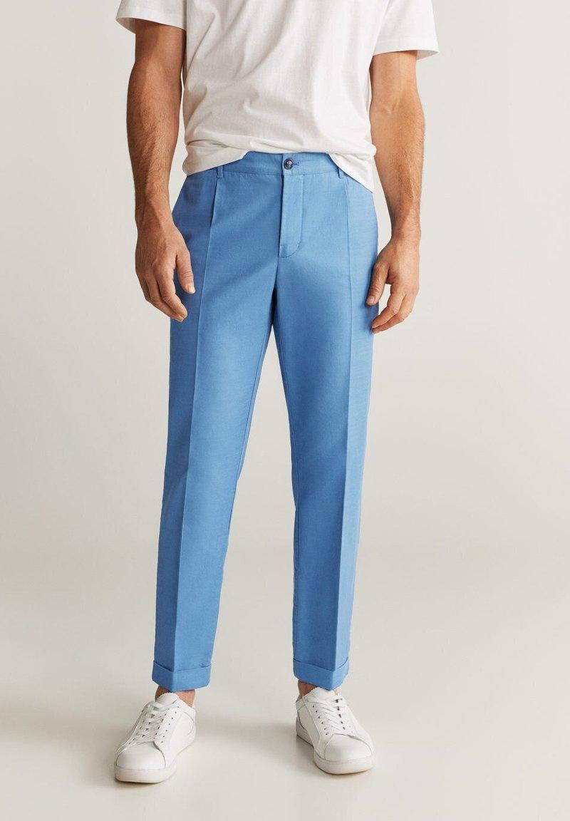 Mango - VIBES - Pantalon classique - indigoblau
