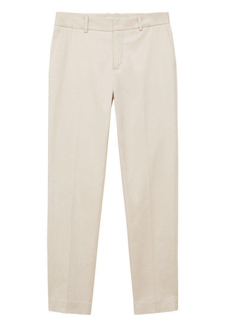 Mango LEO Pantalon classique ecru ZALANDO.FR