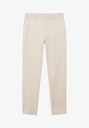 BORETEN - Trousers - ecru