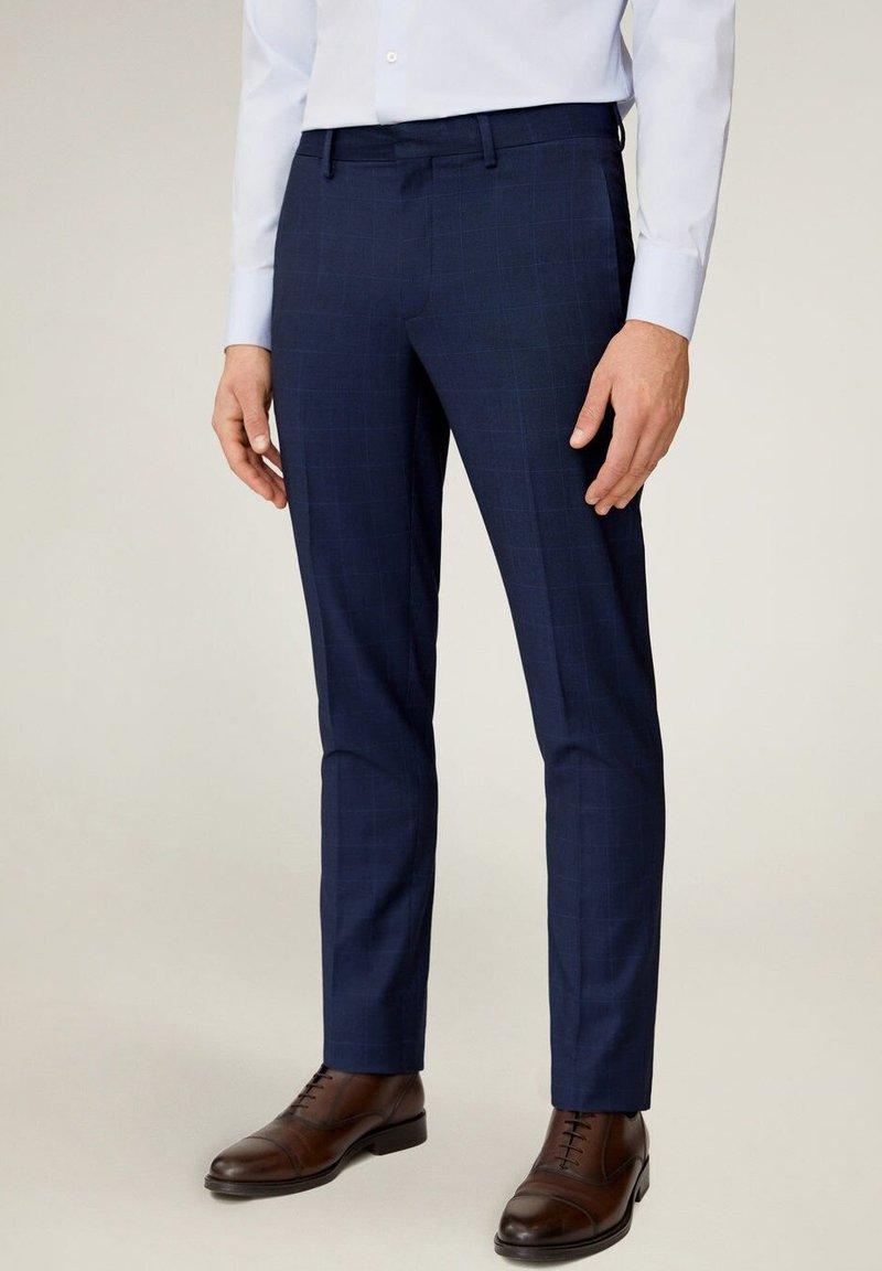 Mango - Pantaloni eleganti - dunkles marineblau