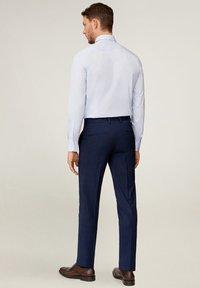 Mango - Pantaloni eleganti - dunkles marineblau - 2
