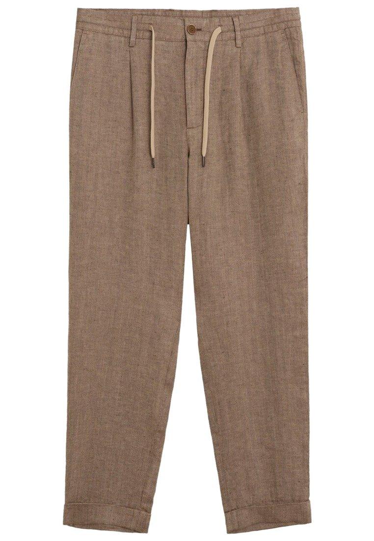 zalando pantalon lin