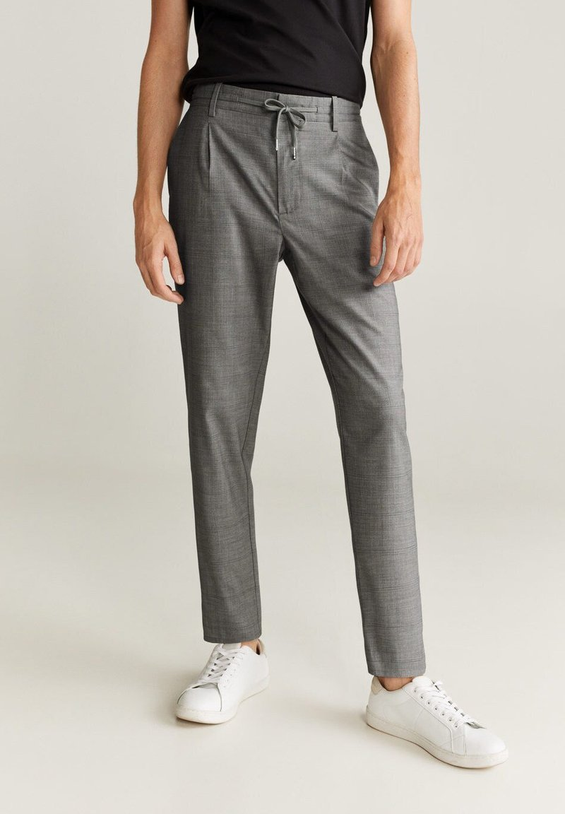 Mango - NOLAN7 - Pantaloni - mittelgrau meliert