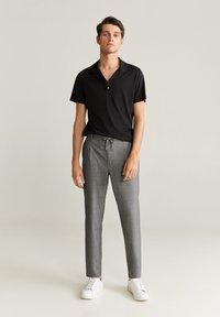 Mango - NOLAN7 - Pantaloni - mittelgrau meliert - 1