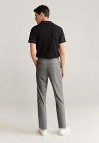 Mango - NOLAN7 - Pantaloni - mittelgrau meliert - 2