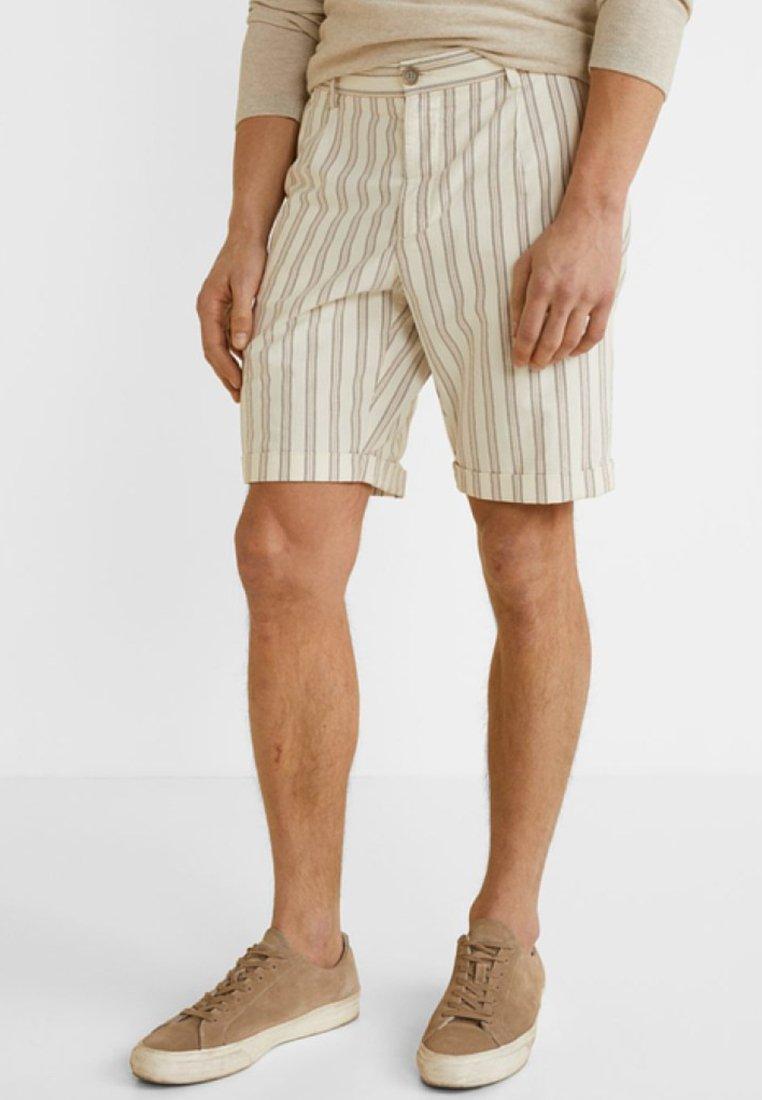 Mango - MONDAY - Shorts - off-white