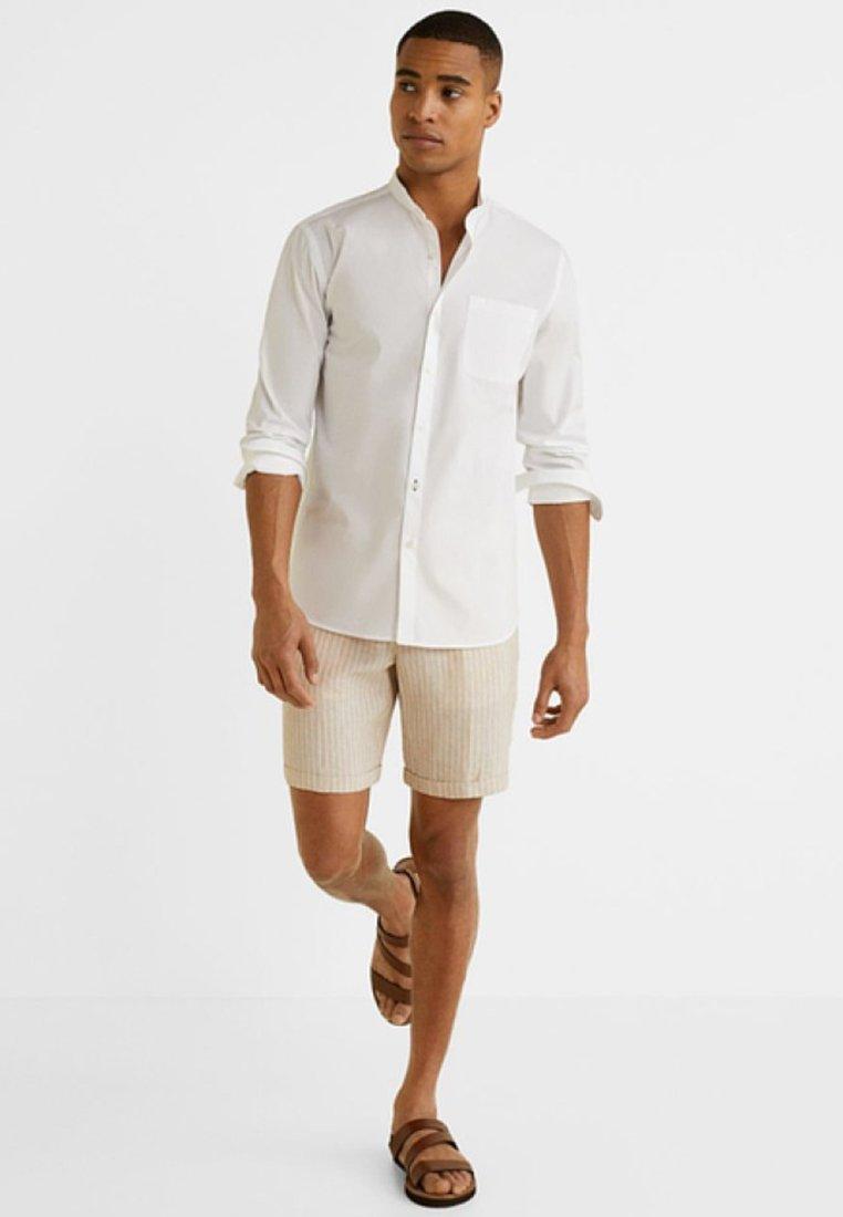 Mango - SET - Shorts - beige