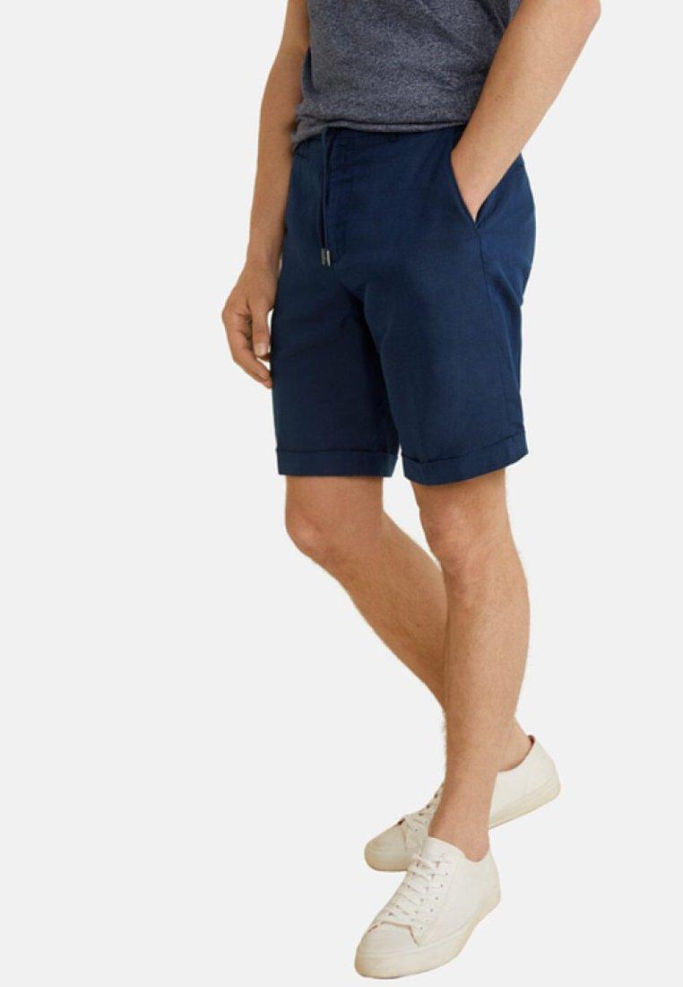 Mango - ARNOLD - Shorts - dark navy blue