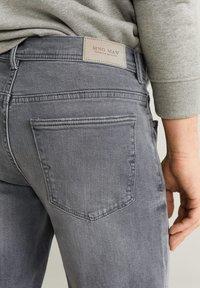 Mango - ROCKH - Szorty jeansowe - grey denim - 3