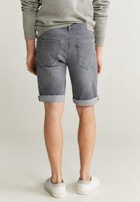 Mango - ROCKH - Szorty jeansowe - grey denim - 2