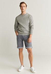 Mango - ROCKH - Szorty jeansowe - grey denim - 1