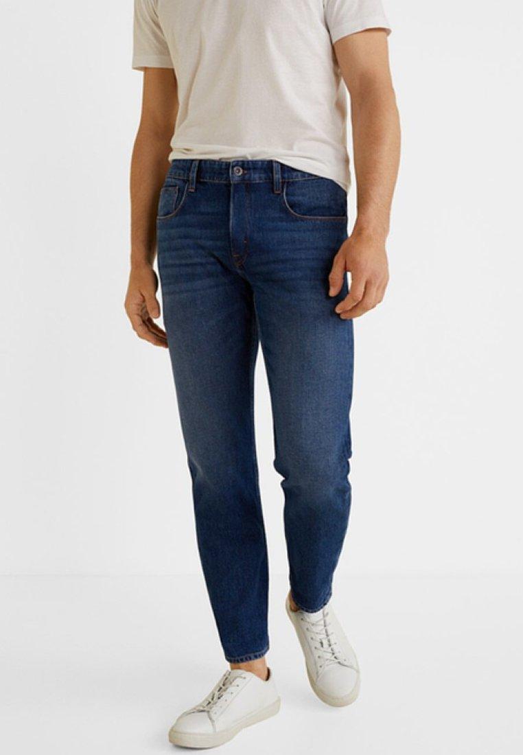 Mango - Summer - Slim fit jeans - dark Blue