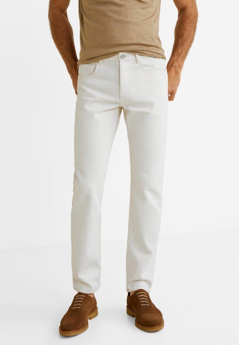 Mango - MENELIK - Slim fit jeans - beige