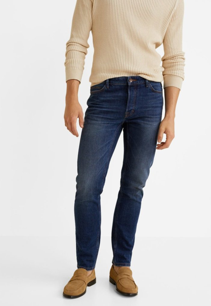 Mango - TIM - Jeans Slim Fit - dark blue