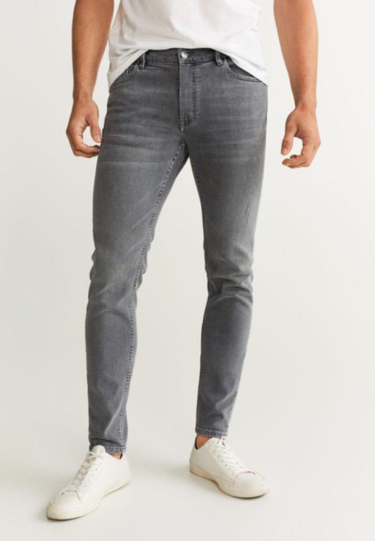 Mango - JUDE - Jeans Slim Fit - grey denim