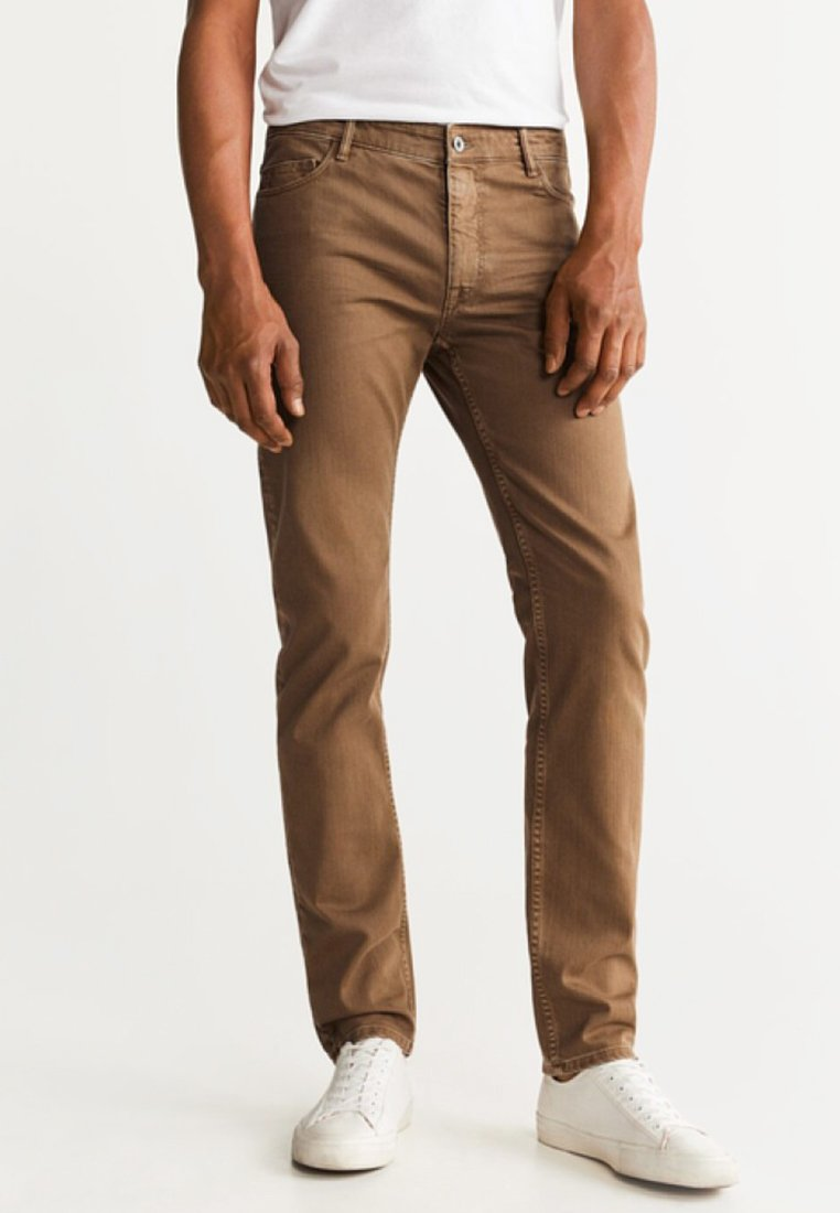 Mango - ALEX - Slim fit jeans - brown