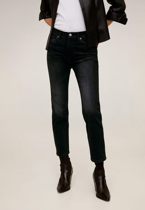 NEWGRACE - Jean slim - black denim