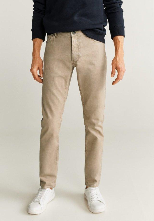 ALEX6 - Jeans slim fit - beige