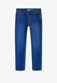 Mango - JAN - Slim fit jeans - bleu foncé - 5
