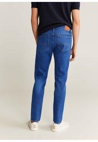 Mango - JAN - Slim fit jeans - bleu foncé - 2