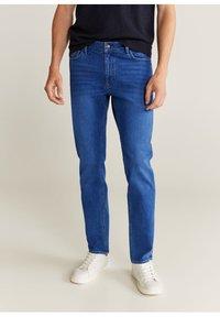 Mango - JAN - Slim fit jeans - bleu foncé - 0