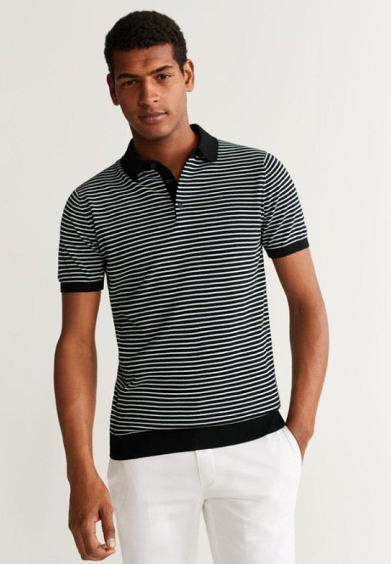 Mango - CALA - Poloshirt - black