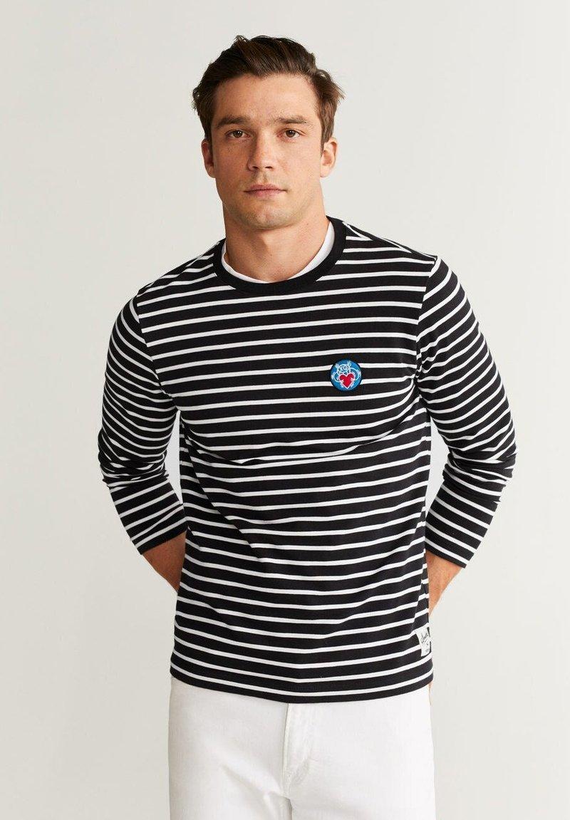Mango - SENA - Long sleeved top - dark navy blue