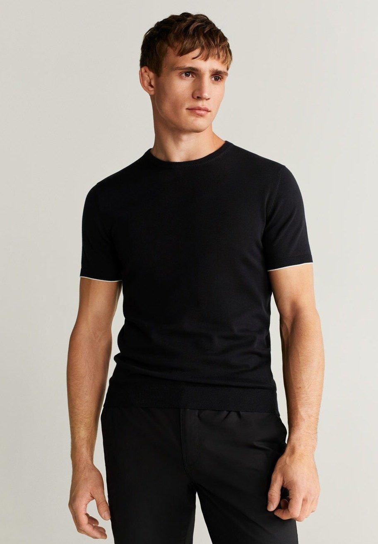 Mango BOIRO - T-shirt basic - schwarz