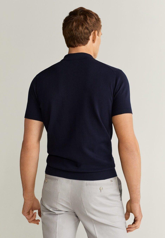 Mango ARRAONA - Polo - marineblauw