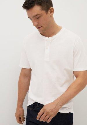 BRUNCH - T-shirts basic - blanc