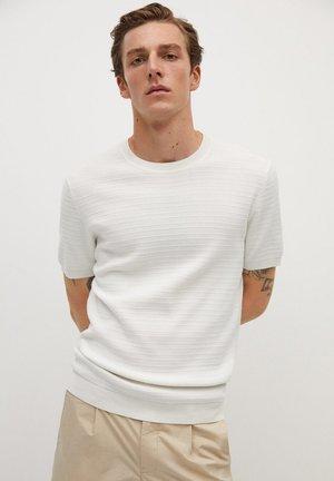 BLANCA - T-shirt basic - white