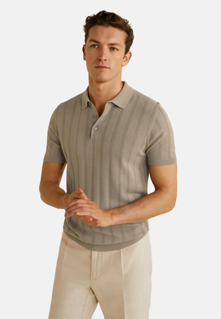 Mango - MERIDA - Polo shirt - beige