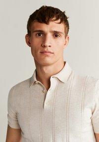 Mango - LATER - Polo shirt - beige - 3