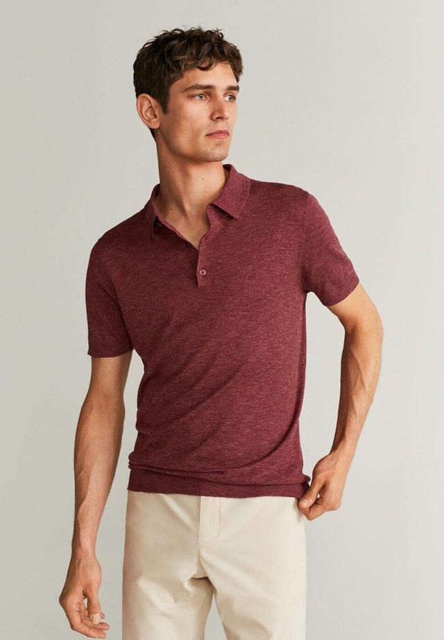 ANDREW - Poloshirt - bordeaux