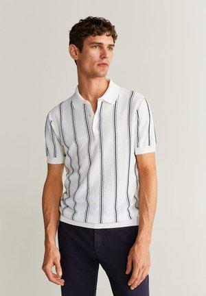 Polo shirt - cremeweiß