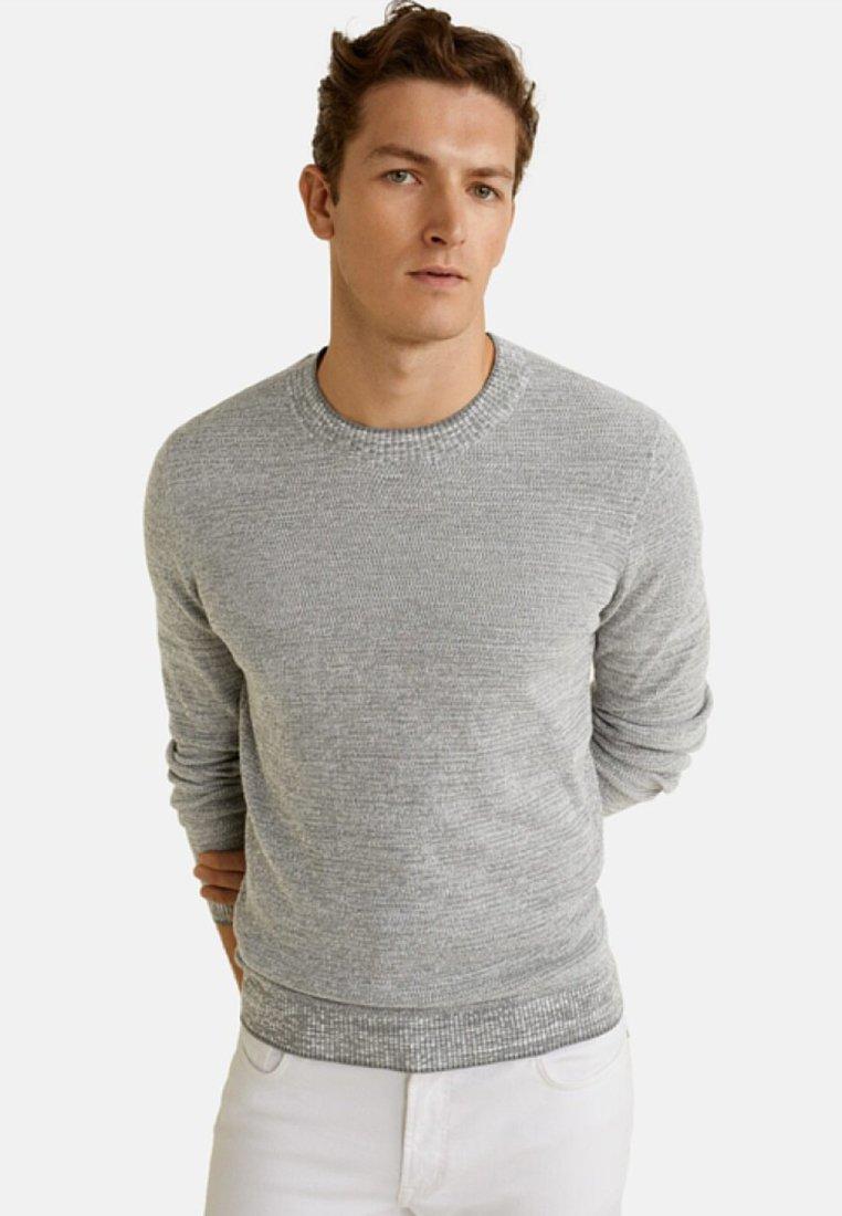 Mango - ANTIGUA - Pullover - mottled grey