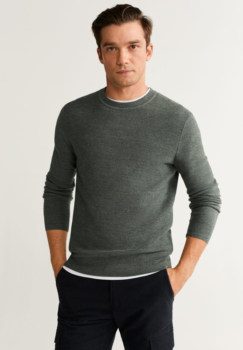 Mango - THIRD - Jumper - green