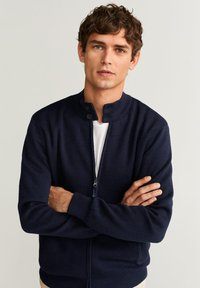 Mango - CORTES - Cardigan - dark navy blue - 3