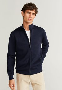 Mango - CORTES - Cardigan - dark navy blue - 0