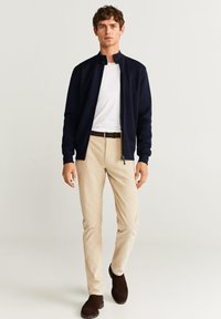 Mango - CORTES - Cardigan - dark navy blue - 1