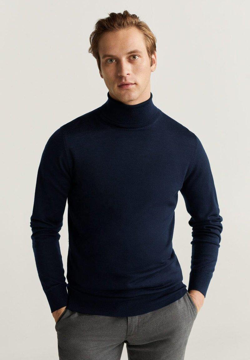 Mango - WILLYT - Pullover - navy blue