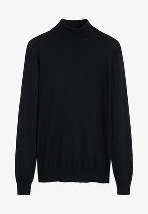WILLYT - Stickad tröja - black