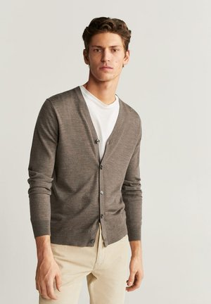 WILLY - Cardigan - brown