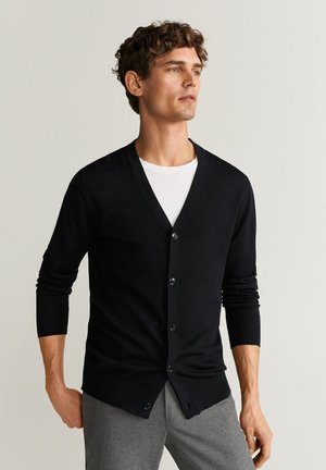 WILLY - Cardigan - black