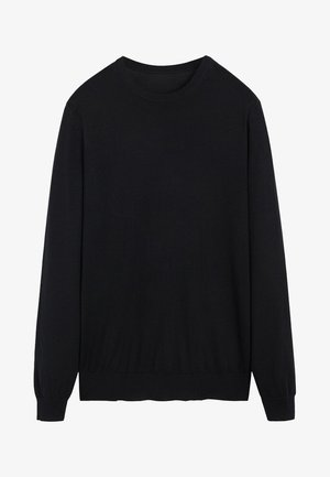WILLY - Pullover - black