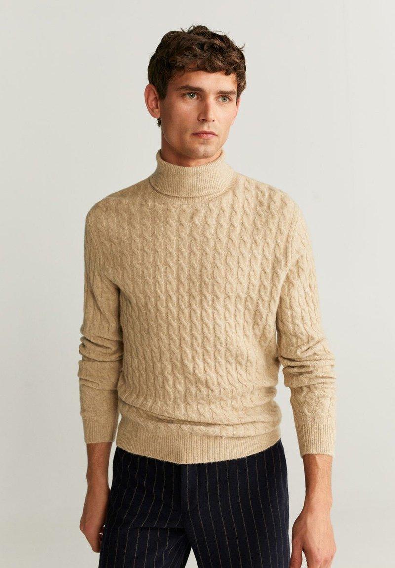 Mango - MARIAS - Pullover - beige