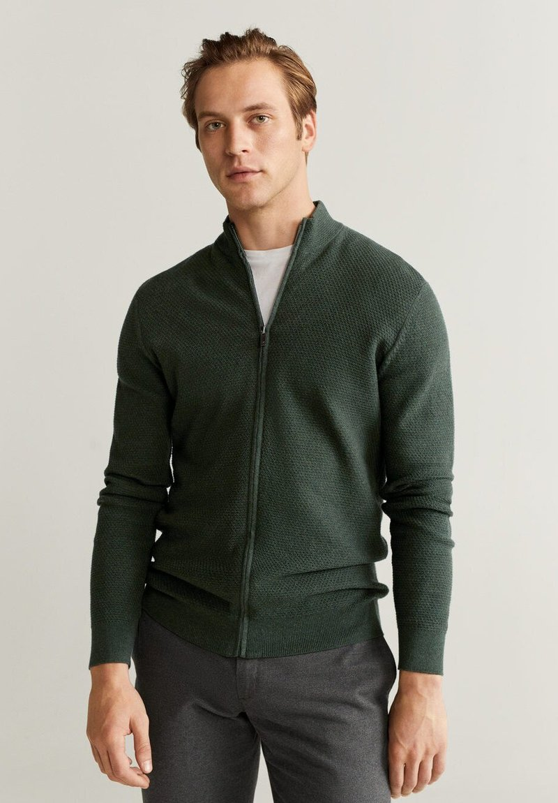Mango - TENC - Vest - khaki