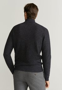 Mango - GASTON - Pullover - mottled dark gray - 1