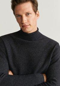 Mango - GASTON - Pullover - mottled dark gray - 2
